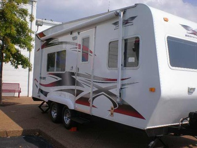 Hide  Beds  Hauler on 2007 Weekend Warrior Sx1800 Toy Hauler   Travel Trailers Classifieds