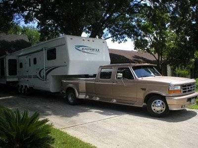Custom Wheel Express on 1999 Custom Built Travel Supreme Express   Fifth Wheel Classifieds