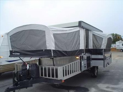 2008 Fleetwood Evolution E3 In Georgia Tent Trailer